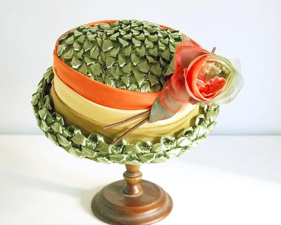 1950s Straw Hat