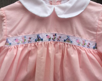 60s Baby Dress and Bloomers 9/12 Months
