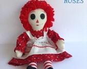 Raggedy Ann Doll Handmade