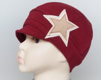 Chemo hats for hair loss, cancer headwear, trichotillomania, children accessories, lupus headwear, soft alopecia hats, kids chemo cap