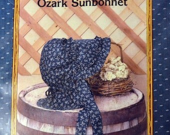 Sewing Pattern Ozark Sunbonnet Country Patterns Uncut