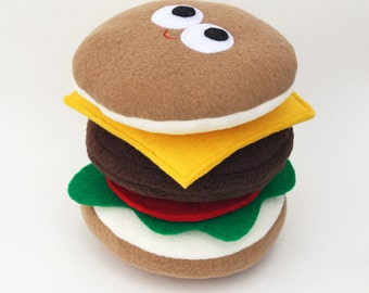Cheeseburger - Plush Food