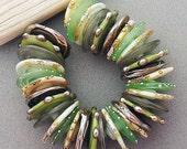DSG-Debbie Sanders Glass Handmade Lampwork Beads (Made To Order) Rustic Woods