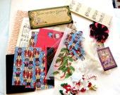 Graphic 45 Christmas Pocket Letter kit with pockets / Nutcracker kit / scrapbooks/project Life, card making kit, teacher gift, penpal
