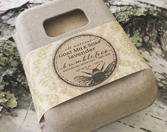 Lavender Goat Milk Soap | Bar Soap | All Natural Soap | Lavender Soap | Homemade Soap | Oatmeal Soap | Artisan Soap | Christmas Gift Idea