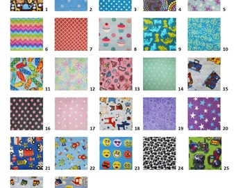 Large Picture List I Spy Bag-Your fabric pattern choice
