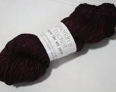 hand dyed yarn - Simple SW DK - Boudoir colorway