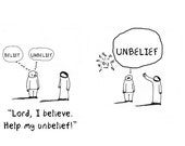 Help my Unbelief CARTOON