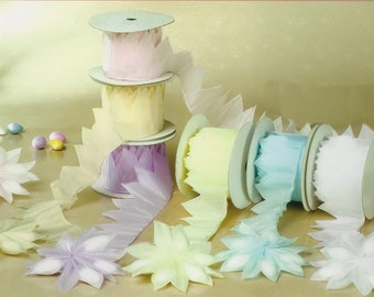 Do It Yourself Jordan Almond Ribbon Flower Favors