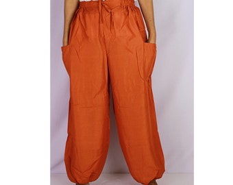 Boho Hippie  Rayon Elastic Waist Long Aladdin Summer pants (AP09)