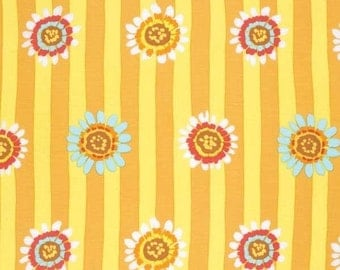 "FAT QUARTER FQ95 Kaffe Fassett Regency Daisy Yellow PWGP146 Precut 18""x22"" Fabric Cotton Quilting Westminster"