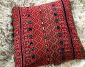 Large Vintage cotton upholstery stripe southwestern india peruvian floor pillow cover home decor throw dog pet bed cushion