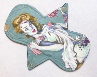 """7.25"""" Heavy - Zomie Diva - Reusable Cloth Menstrual Pad (7HC)"""
