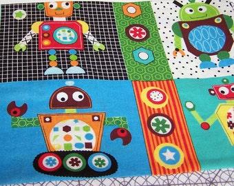 standard pillowcase robots and test patterns