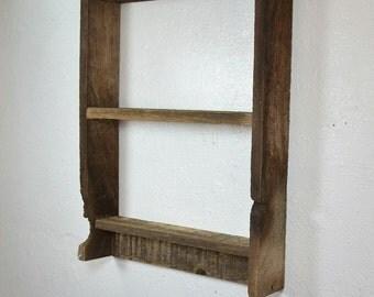 Wood shelf 15x19 great knot hole