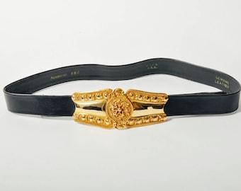 Vintage Accessocraft Medallion Belt