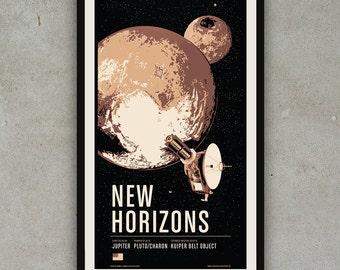 New Horizons - Robotic Spacecraft Screenprint Series
