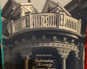 Sale 1990 16th Annual Historic Homes Tour Galveston Texas, Runge Home, US Appraisers Building, St. Patrick's, Galveston Historical Foundatio