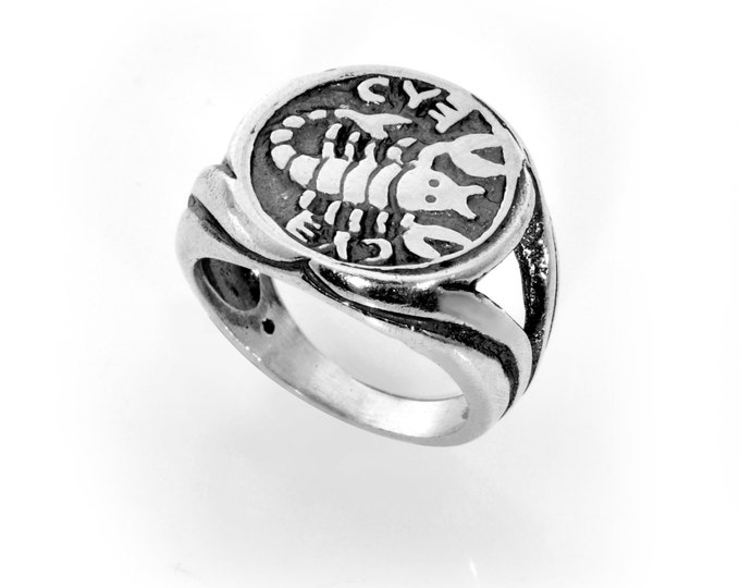 Recovery & Healing King Solomon 925 Sterling Silver Amulet Ring - Choose Size!