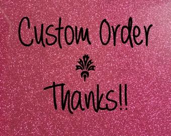 Custom Order  botique stencil