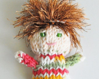 Gift for Kids Knit Finger Puppet Child Development Creative Play Birthday Party Gift Favor