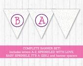 Cute Baby Sprinkle Banner...