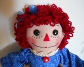 Raggedi Annie--Railroad Andy's sister!  20 inch  Q549