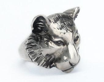 Tiger Totem Ring