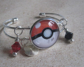 Pokemon GO Ball Charm Bracelet
