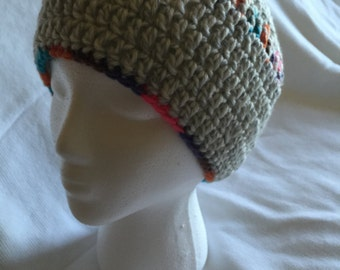 Hand made crocheted hat