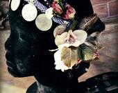 Nature Spirit Headdress - Art Deco/Nouveau Fantasy Faerie Tribal Fusion