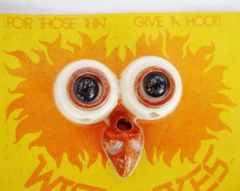 vintage owl eyes beads for crafting macrame