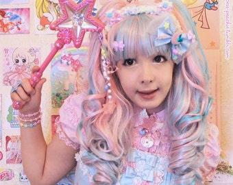 Fuzzy Bear Headband, Fairykei Headband, Fuzzy Fairy Kei Headband, Fuzzy Headband