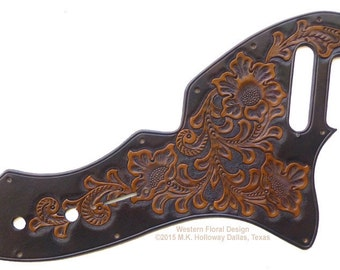 69 Thinline Leather Pickguard