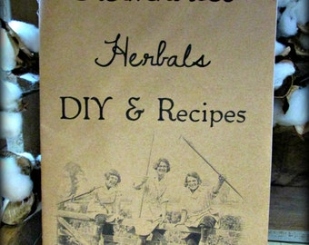Farmhouse Herbals DIY & Recipes Booklet FREE SHIPPING