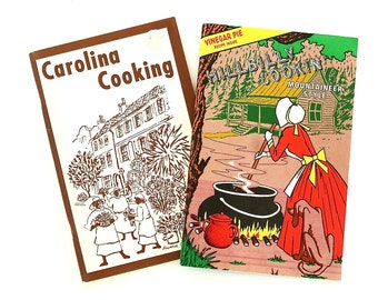 Carolina Cooking & Hillbilly Cookin' Mountain Style Southern Cookbooks