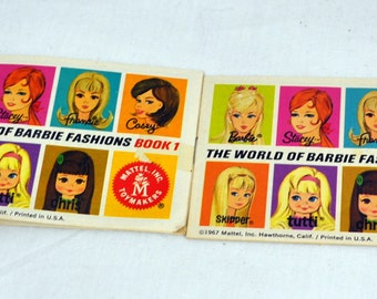 The World of Barbie Fashions - Book 1 and Book 2