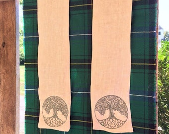 Celtic Wedding Collection - Celtic Tree of Life Handfasting Cloth