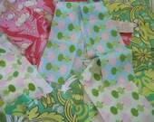 Laminated Cotton Scraps, Amy Butler Fabric Scraps