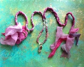 Soft Goddess Gyan Mudra healing necklace