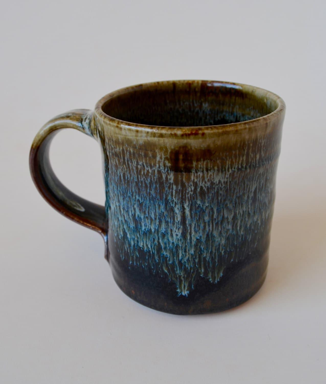 Beautiful Mug Handmade Stoneware Pottery Clay Coffee Mug