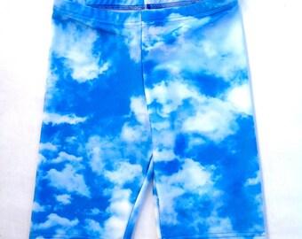 Clouds Short Leggings