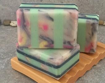 Lotus Blossom Scented Artisan Coconut Milk Bar Soap