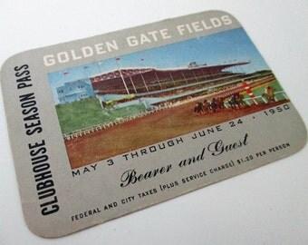 1950 Golden Gate Fields Clubhouse Season Pass