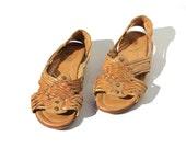 Size 8.5 FRYE Tan Leather Sandal