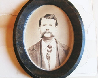 framed vintage gentleman