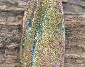 Rainbow Titanium Brazilian Druzy Cabochon