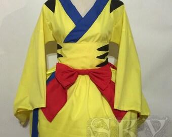 Wolverine Kimono Dress Set