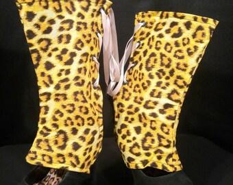 Leopard Print Spats