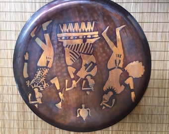 Decorative Egyptian Plate